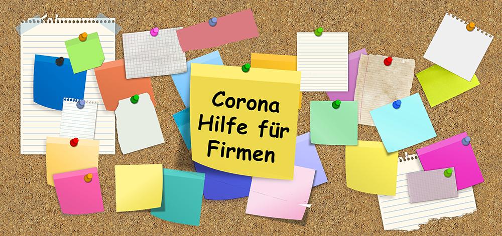 Corona Hilfe Firmen
